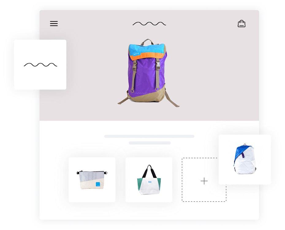 shopify webshop voorbeeld
