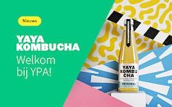 Nieuwe samenwerking YAYA Kombucha